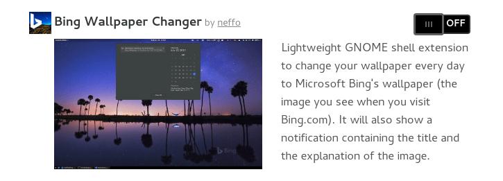 bingの 今日の画像 をgnomeの壁紙に自動設定する方法 linux fan